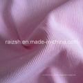 2X2 costela tecido de malha CVC Rib tingimento Tecido de malha