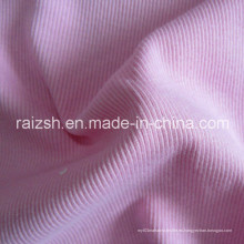 Tejido 2X2 Rib Knitting Tejido Costura CVC Rib Tejido