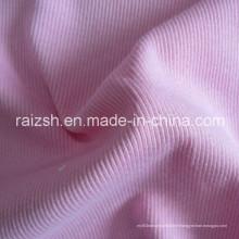 Tissu tricoté 2X2 Tissu tricot CVC Rib Dyeing