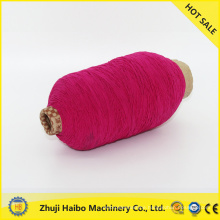 polyester overlock yarn polyester rubber covered yarn polyester rubber covered yarn 90#75d
