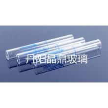 Serie von hochwertigen Klarglas Tube