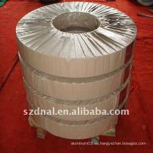 1050 bobinas de aluminio usadas en el intercambiador de calor