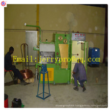 22DT(0.1-0.4)Copper fine wire drawing machine with ennealing cable making equipment