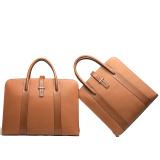2014 Best Sale Fashion Genuine Leather Men Business Computer Bag (26113-75201)