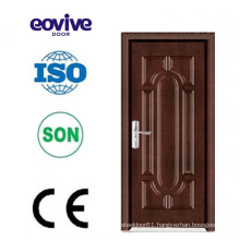 high quality interior bedroom PVC wooden door deisign