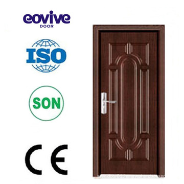 high quality interior bedroom PVC wooden door deisign