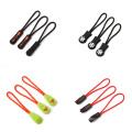 Wholesale custom rubber puller fashion design plastic zipper slider bag zipper slider for handbag