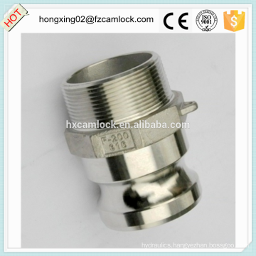 Camlock type F stainless steel 316, cam lock fitting, quick coupling