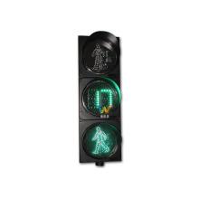 El temporizador de cuenta regresiva digital de 300 mm llevó la luz peatonal de tráfico