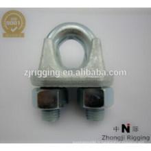 Les pinces à câble forgées en acier inoxydable sont fabriquées en acier galvanisé à chaud de haute qualité