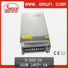 Fonte de alimentação do interruptor de 500W 24VDC 20A