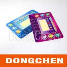 Imprimé en plastique multicolore imprimé coloré pour Game Player