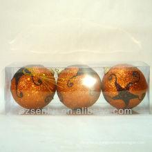 Ornamento decorativo da bola do styrofoam do Natal