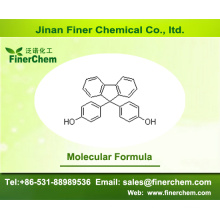 3236-71-3   4,4 '- (9-Fluorenylidène) diphénol   Fluorène-9-bisphénol   prix d'usine; Grand stock