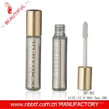 2ml MIni amostra de brilho de lábio livre de ouro