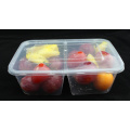 Microwavable Einweg-Plastik-Imbiss-Nahrungsmittelbehälter mit Abdeckung