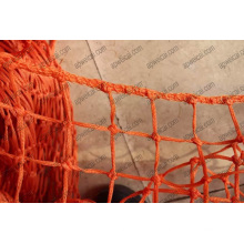 HDPE Braided Knotted Netting 4mm X 40mm X 40mm Opening