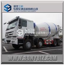 HOWO 8X4 Heavy Duty Betonmischwagen Heißer Verkauf