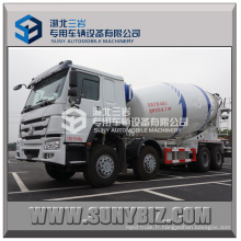 HOWO 8X4 Heavy Duty Camion mélangeur en béton Hot Sell