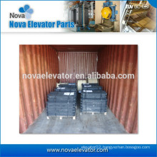 Elevator CW Block, Compound Cast Iron Steel Plate CW Block, Export to Saudi Arabia