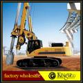 Ampliamente utilizado Rotary Driling Rig en construcción de pilotes