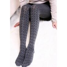 Calças Justas De Algodão De Inverno Mulheres Quentes Confortáveis (50987)