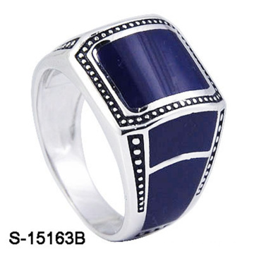 New Model 925 Sterling Silver Ring with Enamel