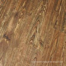 Surface en bois anti-résidentielle et commerciale Lâchez le plancher en vinyle de Lay