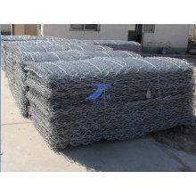 Caliente DIP galvanizado Gabion cesta