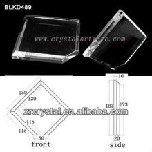 K9 Leer Crystal für 3D Lasergravur BLKD489