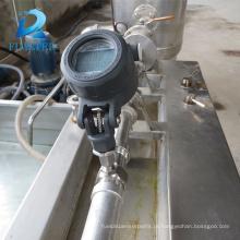 Medidor de fluxo de turbina para líquido sem impureza e corrosividade