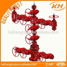 API 6a Brunnenkopfausrüstung und Weihnachtsbaum für Ölbohrungen, Brunnenkopf und Weihnachtsbaum, Brunnenkopf Weihnachtsbaum