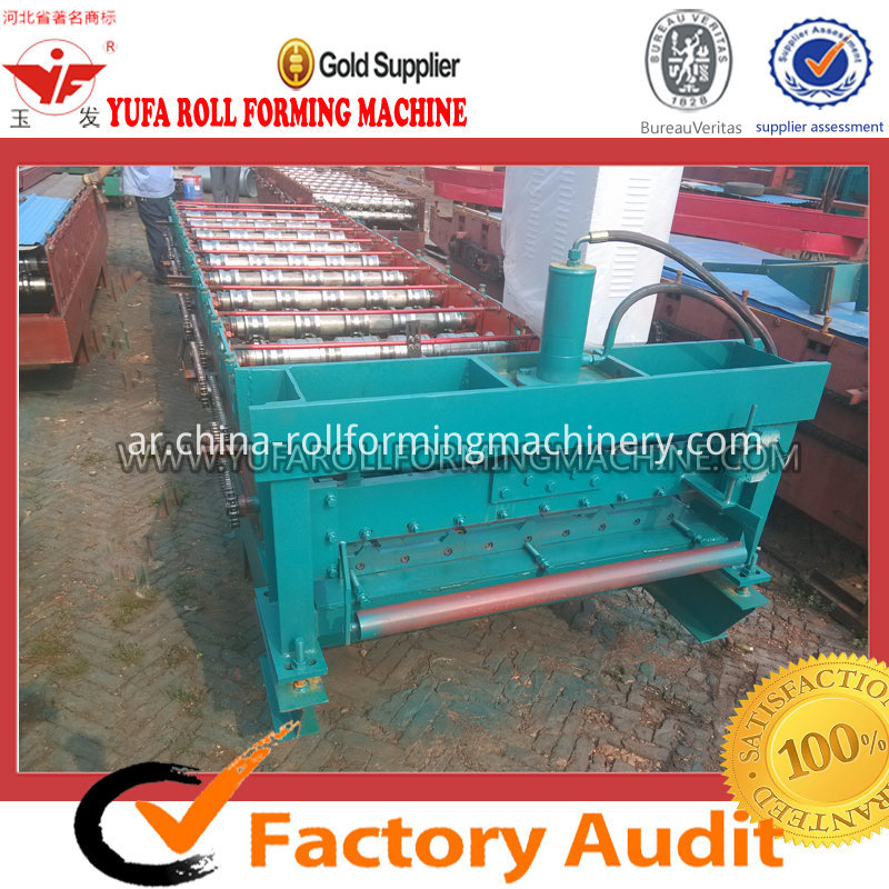 840 metal sheet color steel roll forming machine