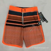 Pantalones cortos del estiramiento de la marca de fábrica de los hombres del OEM de la fábrica
