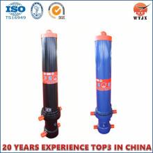 Cylindre hydraulique télescopique télescopique multi-étage OEM / ODM