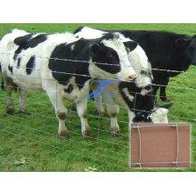 Valla de campo para cerca de pastizales de granja