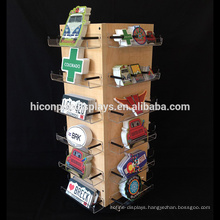Point Of Purchase Merchandiser Display Counter Top Shop Fitting Acrylic Wood Retail Gondola Shelving