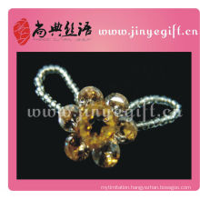 Wholesale Yellow Flower Crystal Jewelry Bijoux Ring