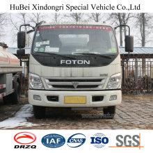 5cbm Foton Euro 4 Petrol Gasoline Fuel Oil Tanker Truck with Diesel Engine