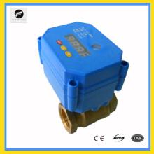 Timing Bola eléctrica / válvula de mariposa para el sistema de agua caliente / iggiration 2way / 3way