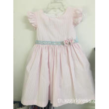 100%cotton party dress