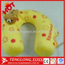 Горячее сбывание симпатичная мягкая заполненная подушка шеи плюша перемещения с игрушкой медведя