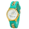 Quartz Geneva Women Watch Lasted wrist watch