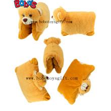 Almofada de pelúcia Stuffed urso andar almofada estilo como CE aprovado