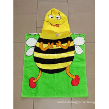 100 % Baumwolle Kinder Poncho Handtuch
