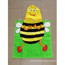100% Cotton Children Poncho Towel