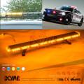 Sirene da polícia da emergência do tráfego Luz estroboscópica do diodo emissor de luz Barra clara magro Barra de luzes de piscamento ambarina