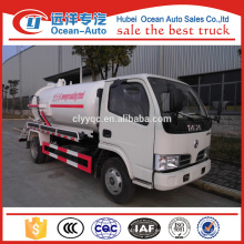 China 4 cbm alcantarilla Sucking Truck Fabricación