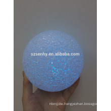 Christmas decoration led white hanging ball