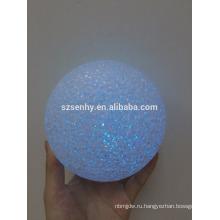 Рождественские украшения LED белый висит шар